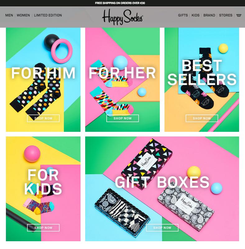 trend e-commerce 2016 layout a griglia