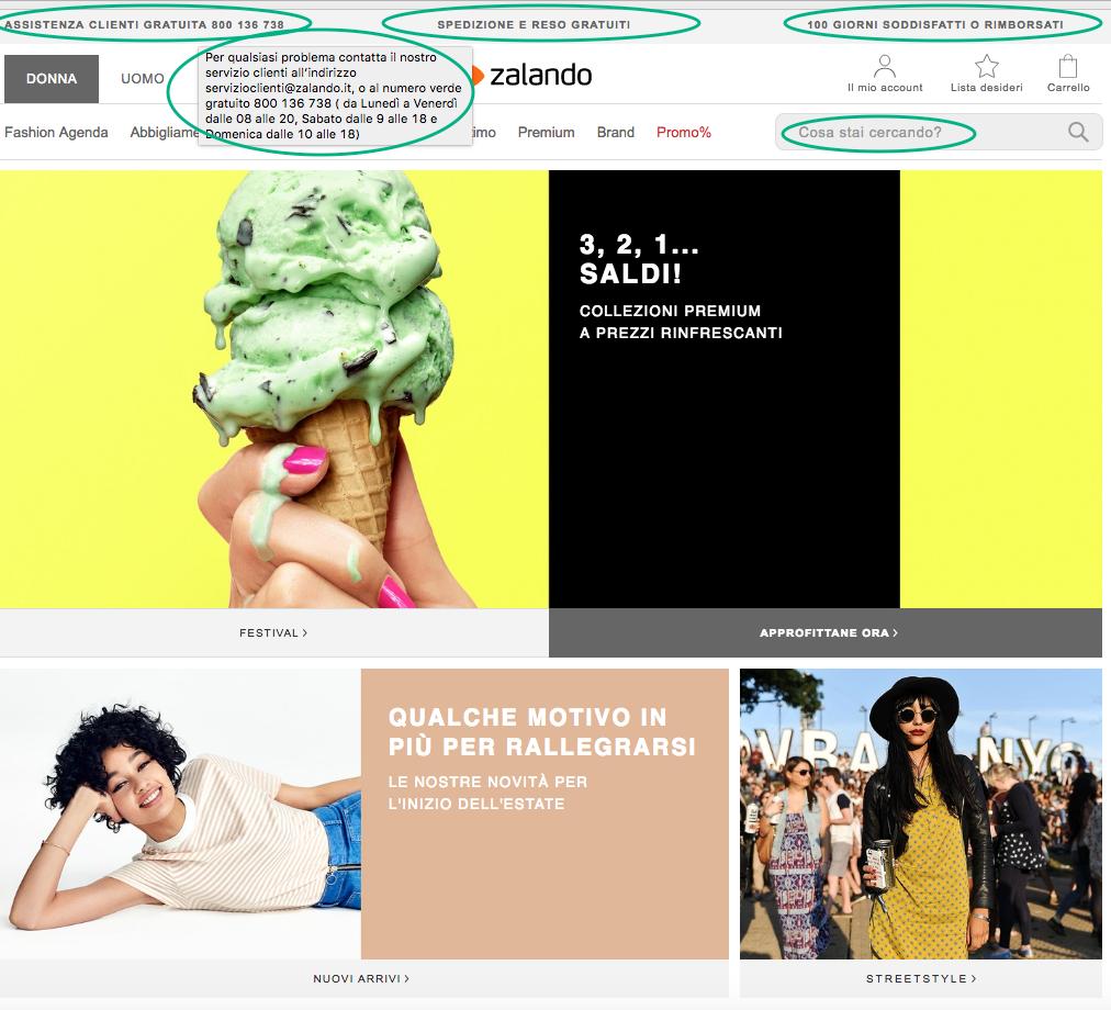 ecommerce best practices homepage micro contenuti ecommerce