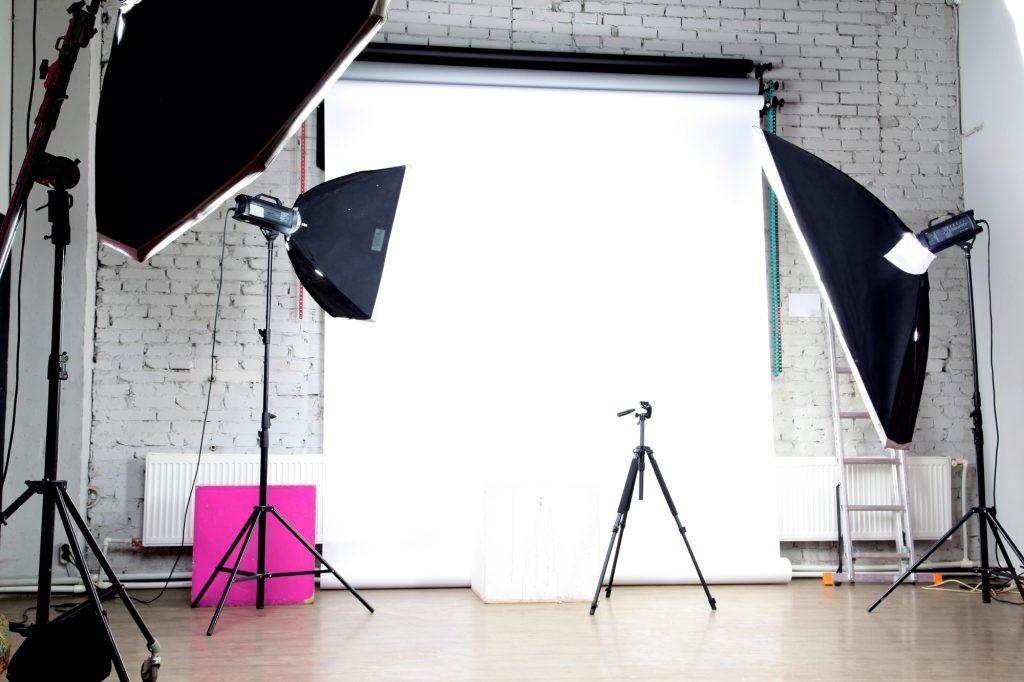 foto e-commerce: allestimento del set fotografico