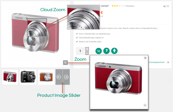 foto e-commerce: lo zoom