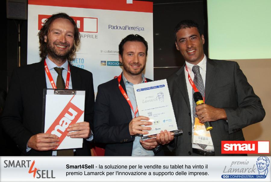 premio malarck smau applicazione smart4sell