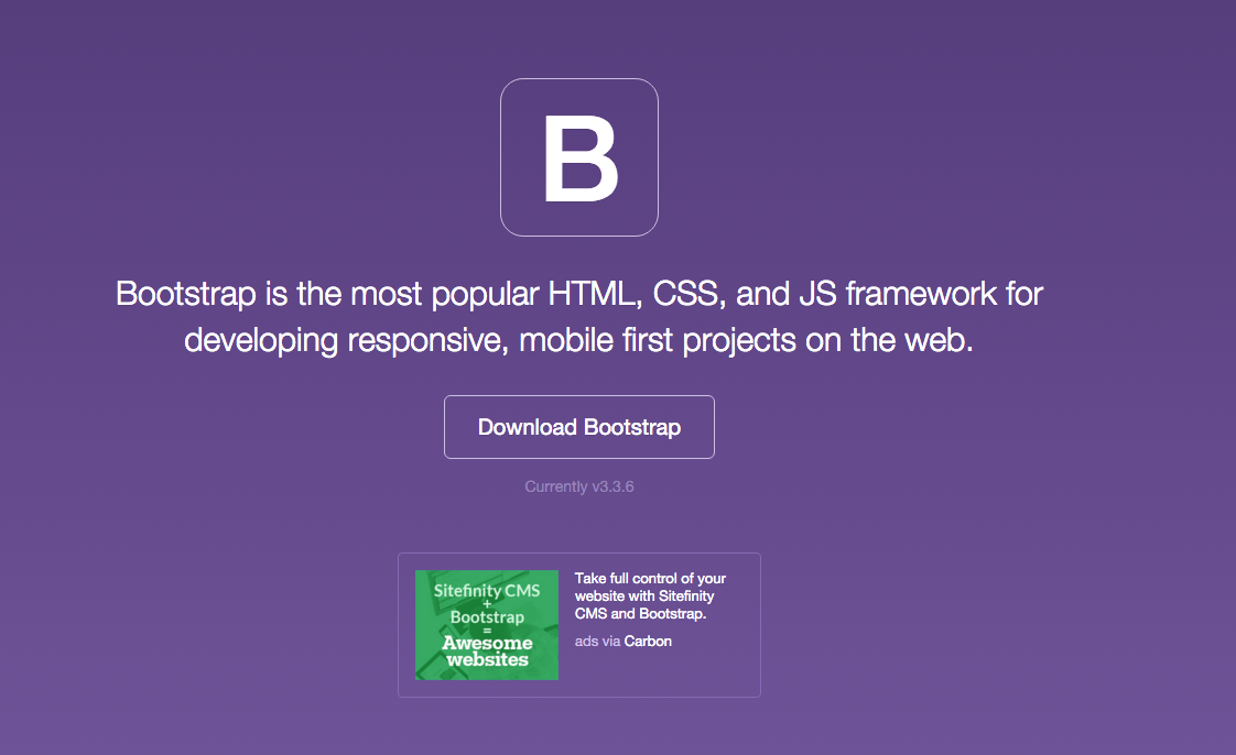 Bootstrap cta e-commerce
