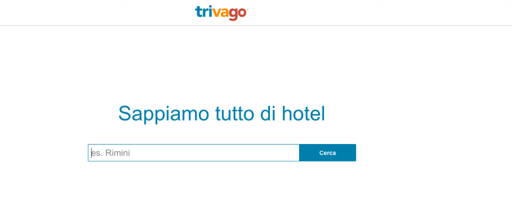 Cta e-commerce Trivago