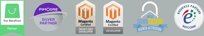 Esse Solutions partner Magento e Vue Store Front