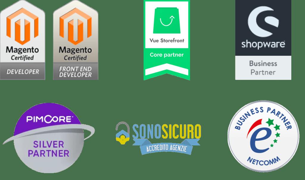 Partners Magento Vue StoreFront Shopware Pimcore